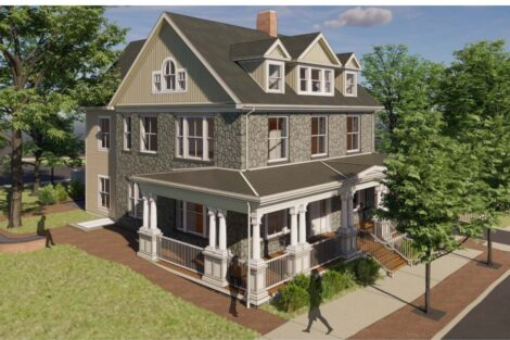 House at 517 Clinton Terrace will be moved to 41 McCartney St. to serve as new Portlock Center
