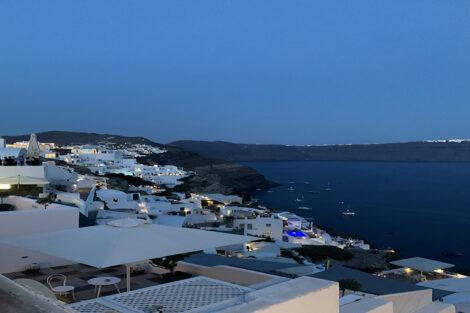Greek Islands at night, Study Abroad Summer 2021