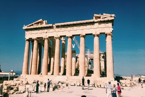 Greek Parthenon Study Abroad Summer 2021