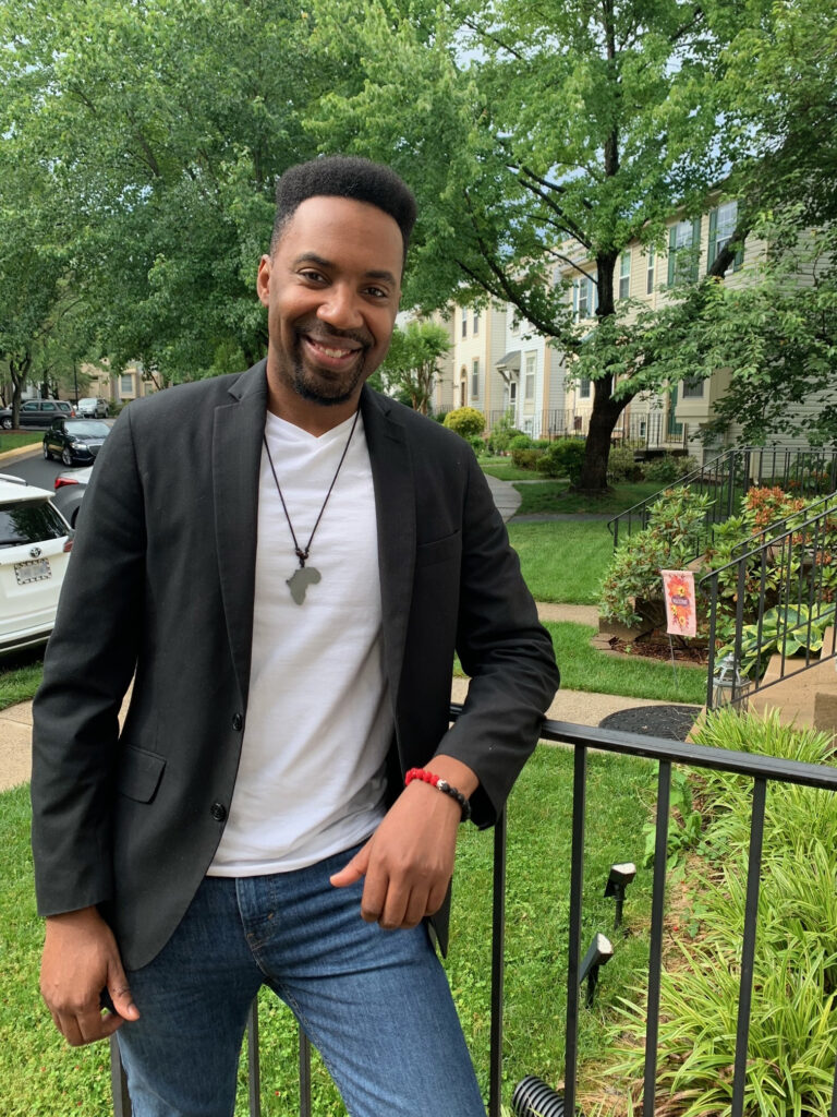 Tim Cox poses for Juneteenth story