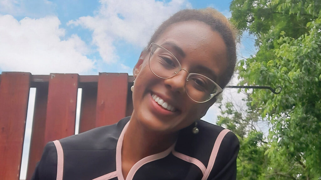 Kelly Mwaamba '22, Government & Law major and EXCEL Scholar