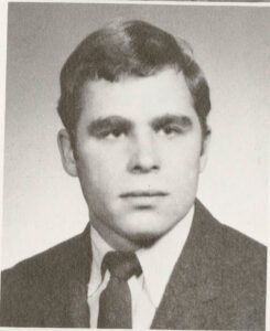 Yearbook photo of Brad Meigs Class of 1971