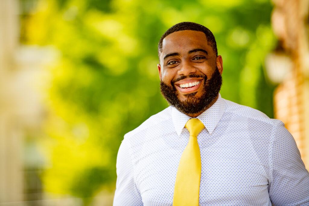 Brandon Morris, First-Year Dean, Advising and Co-Curricular Programs