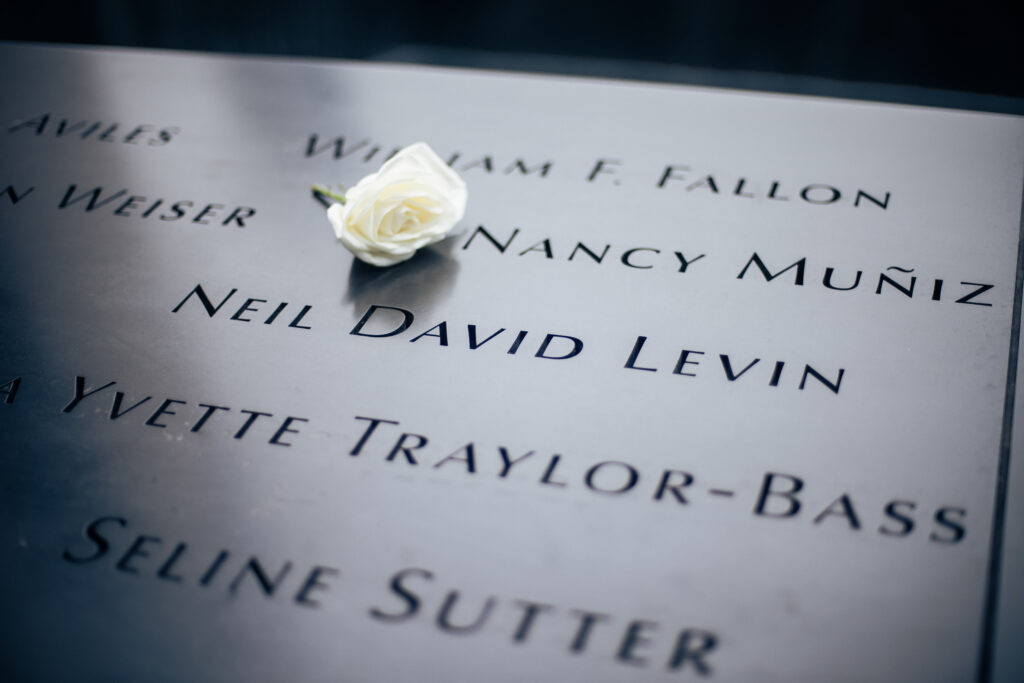 Neil Levin's life honored among the fallen at the 9/11 Memorial in lower Manhattan