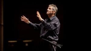 Larry Stockton conducting