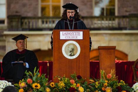 Nicole Farmer Hurd delivers inauguration address