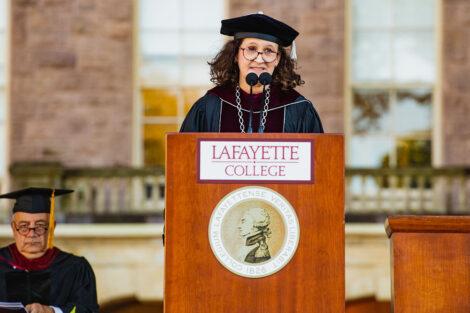 Nicole Farmer Hurd delivers inauguration remarks