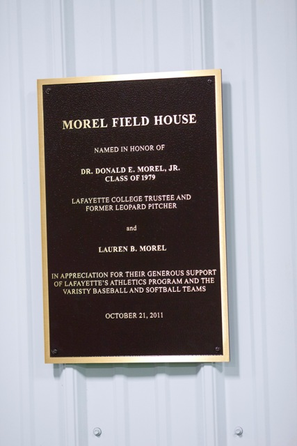 college dedicates morel field house news lafayette college. Black Bedroom Furniture Sets. Home Design Ideas